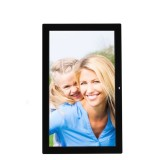 18.5 inch Wall Hanging Advertising Machine, Shopping Mall Electronic Display Stand Advertising Machine, Digital Photo Frame (Black)