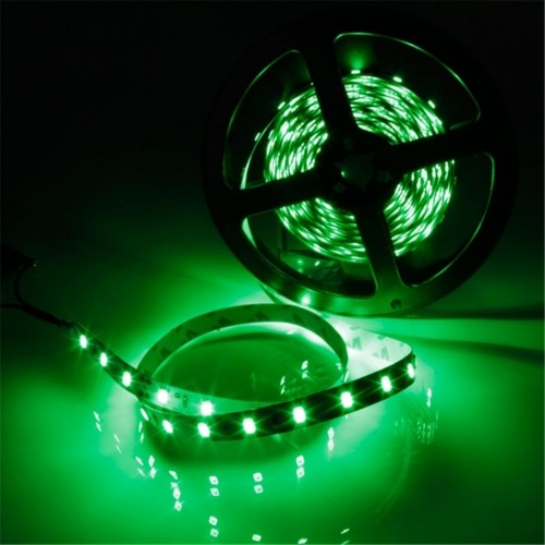 YWXLight IP20 300LEDs 5M SMD 5630 LED Strip Flexible LED Ribbon For Home Decoration DC 12V (Green)