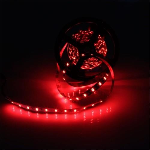 YWXLight IP20 300LEDs 5M SMD 5630 LED Strip Flexible LED Ribbon For Home Decoration DC 12V (Red)