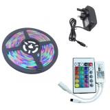 YWXLight 5M 2835 RGB WIFI LED Strip light Waterproof RGB Remote WIFI Wireless Controller UK Plug