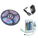 YWXLight 5M SMD 2835 RGB WIFI LED Strip Light Waterproof RGB Remote WIFI Wireless Controller US Plug