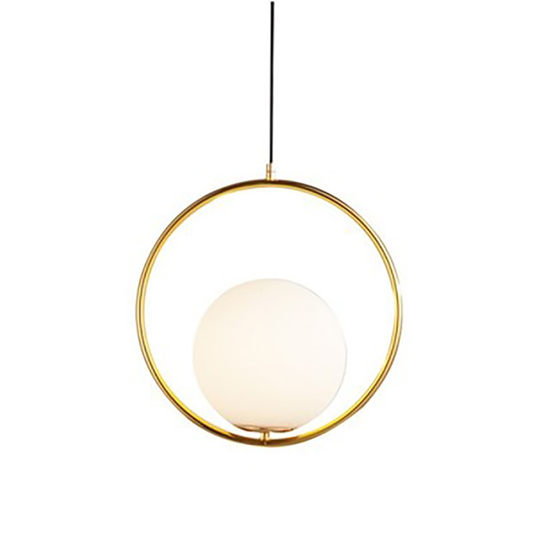 YWXLight Creative Ring Chandelier Living Room Dining Room