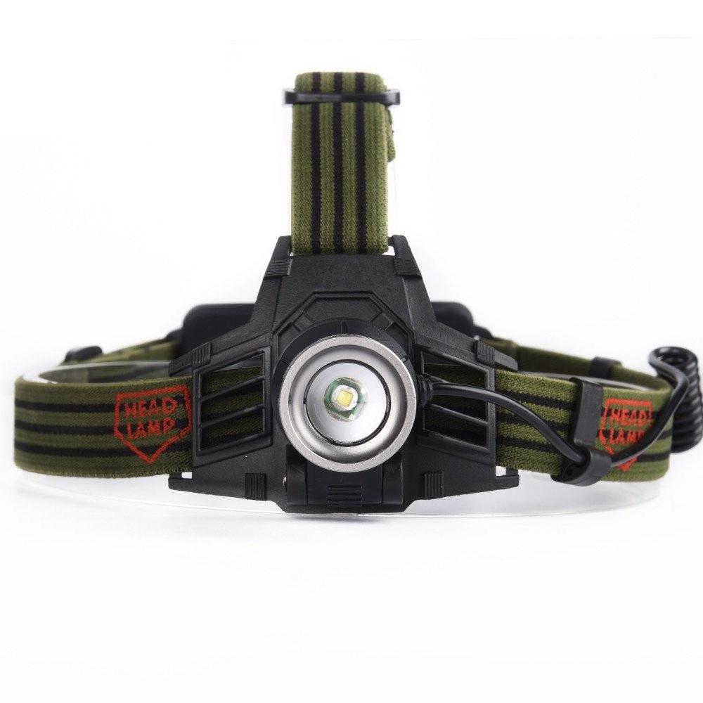 YWXLight LED Rechargeable Telescopic Focusing USB Headlights Flashlight Camping