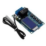 LDTR-WG0248 Digital Thermostat Heating Refrigeration Temperature Control Switch Temperature Controller Module (Blue)