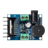 LDTR-WG0251 DC 6-18V TDA7297 Double Channel 10-50W Audio Power Amplifier DIY Module Board (Blue)