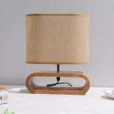 YWXLight Nordic LED Vertical Table Lamp Bedroom Retro Bedside Lamp Reading Creative Home Work Romantic Desk Learning Desk Lamps