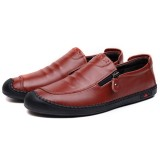 Men Casual Business Shoes Soft Comfy Leather Oxfords