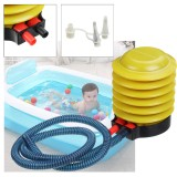Manual Air Pump Inflating Deflate Tool For Inflatable Bed Swimming Pool Balloon