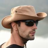 Men Women Summer Visor Bucket Hat Fisherman Hat Outdoor Climbing Breathable Sunscreen Cap