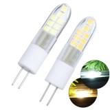 AC220V 2.5W G4 2835 Ceramics Warm White Pure White 16LED Corn Light Bulb for Chandelier Indoor Home