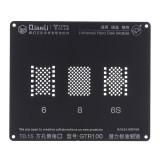 GTR100 3D BGA Reballing Stencil Hard Disk Logic Module BGA Reballing Repair Tool for iPhone 5 5S 6 6S 7G 7Plus 8 8P