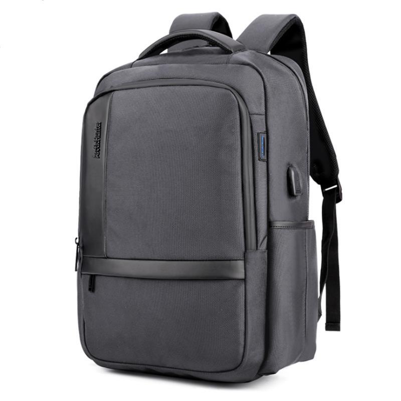 Anti Theft Nylon Men 15.6 Inch Laptop Backpacks School Fashion Travel Male Casual,Black Usb 15.6Inch,Spain
