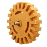 21mmx99mm Rubber Eraser Wheel Decal Removal Eraser Wheel 4 Inch Pneumatic Tools Rubber Replacement Accessories
