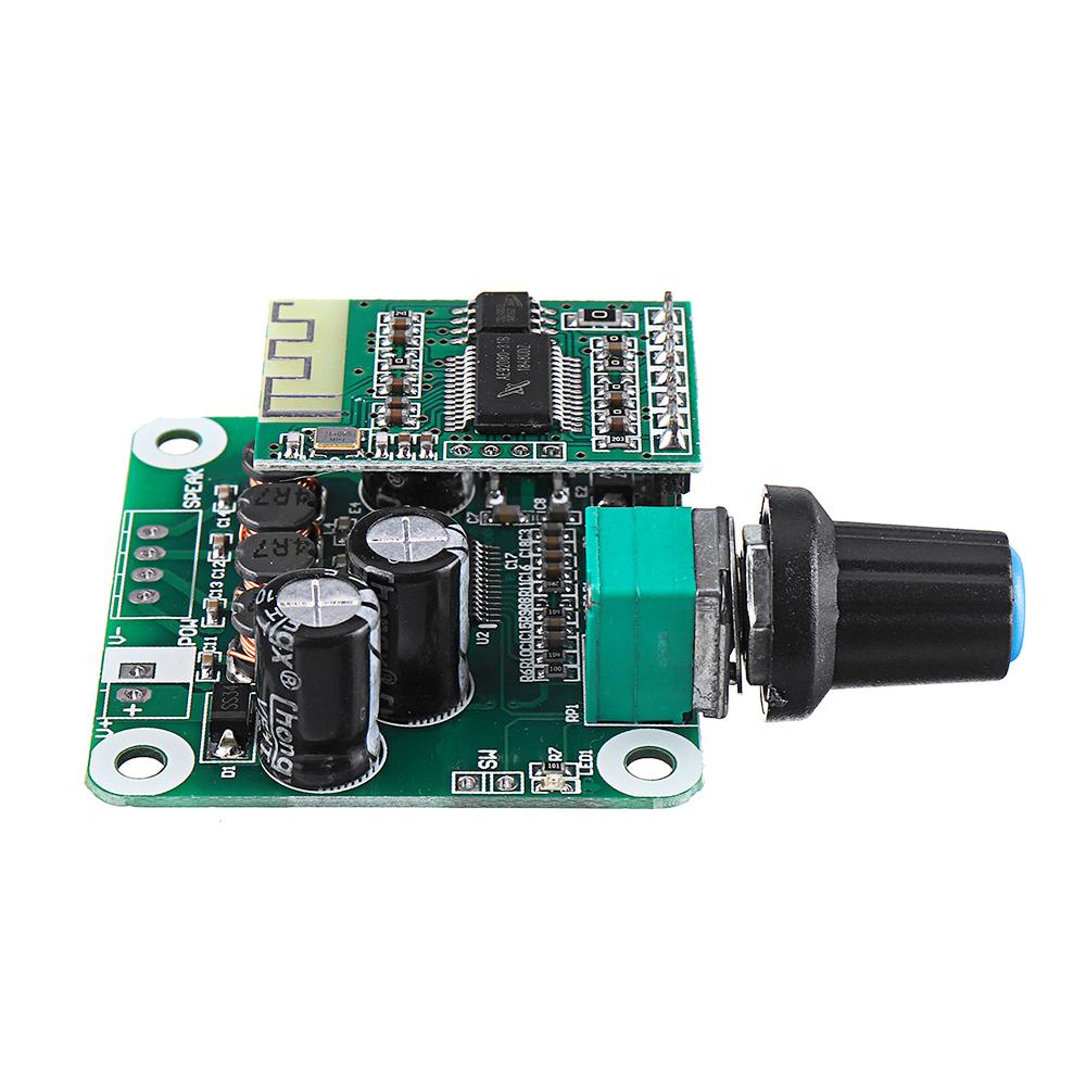 3pcs TPA3110 bluetooth 4.2 Digital Amplifier Board 15Wx2 Class D Stereo Power Amplifier DC 8V-26V