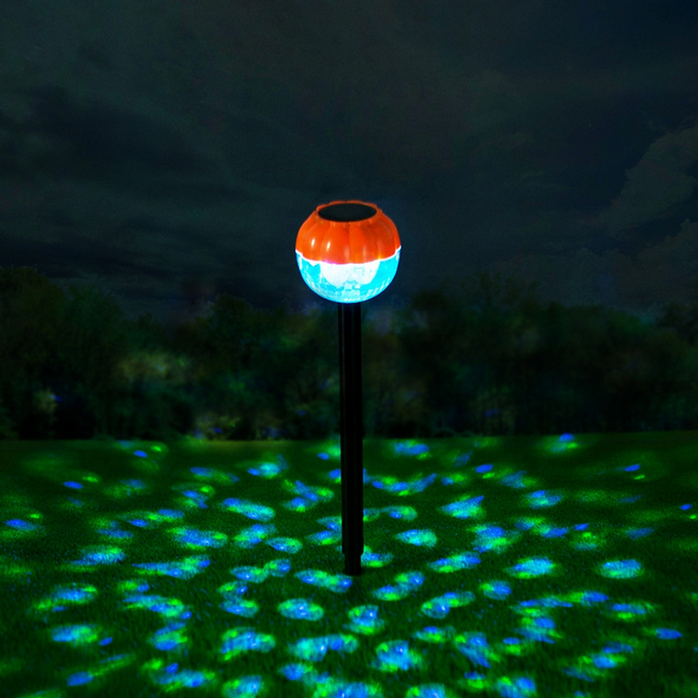 Solar 3 LED Color Changing Ball Garden  Light Waterproof Outdoor Yard Landscape Lamp