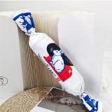Women Canvas Fashion Cute White Rabbit Candy Crossbody Bag Shoulder Bag Chain Bags