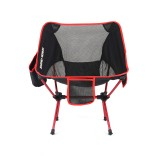 IPRee Outdoor Portable Folding Chair Ultralight Aluminum Alloy Stool Max Load 120kg Camping Picnic
