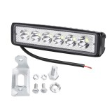 18W 12/24V IP65 Car LED Spot Work Light Flood Lamp Off-road Truck ATV Boat Truck