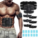 12PCS ABS Stimulator Gel Pads Replacement for Muscle Toner for Abdominal Workout Belt Muscle Trainer Machine