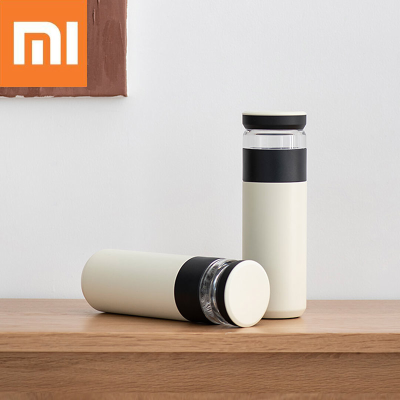 Xiaomi Fun Home 520ml Thermos Bottle Insulation Vacuum Cup Water Drinking Mug With Tea Infuser