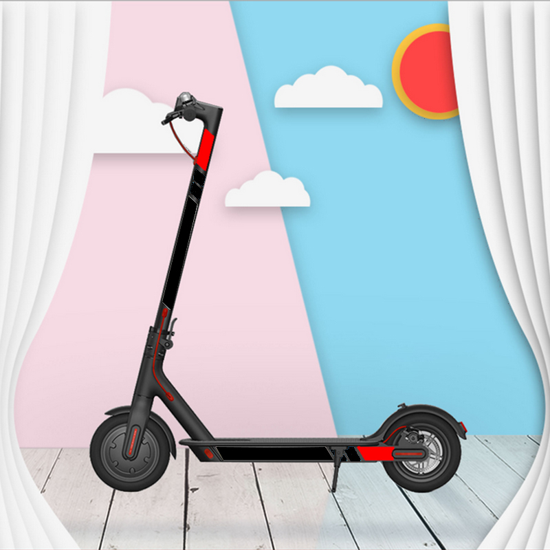 Reflective Sticker Styling Set For Xiaomi Mijia M365 M365 Pro Electric Scooter