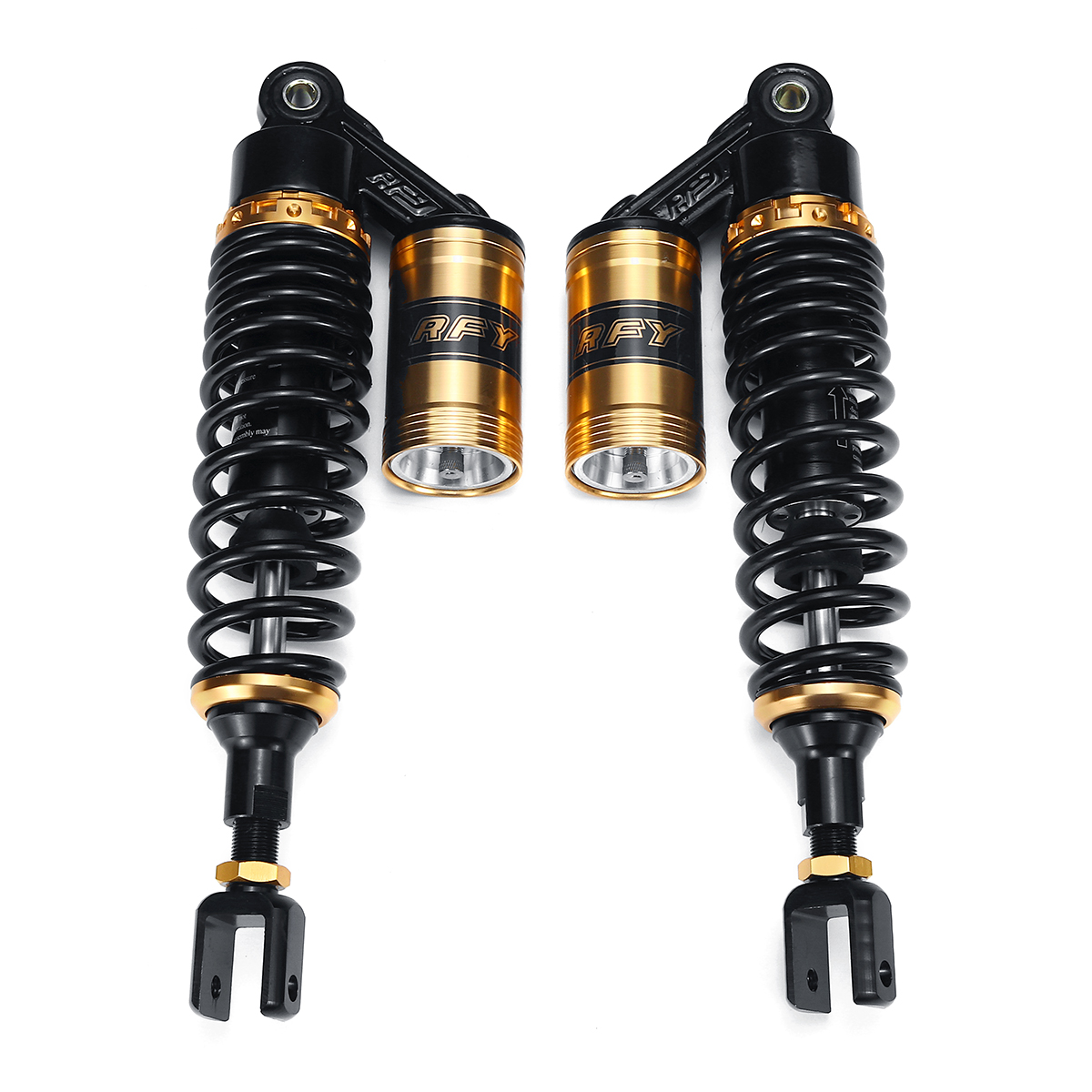 14inch 360mm Motorcycle Rear Air Shock Absorber Suspension 150cc-750cc For Honda/Yamaha/Suzuki Scooter Quad Street Bikes Karting