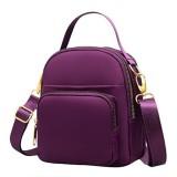 Women Nylon Multi-pocket Crossbody Bag Lightweight Shoulder Bag