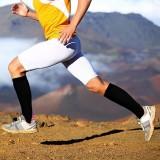 Knee High Stocking Sport Football Socks Leg Support Stretch Compression Socks Active School Team Socks