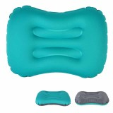 IPRee Outdoor Travel Air Inflatable Pillow Sleep Headrest Neck Massage Folding Cushion