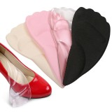 Women's Ballet Shoes Sneakers High Heels Pain Prevention Anti-friction Non-slip Front Foot Silicone Pad Insole