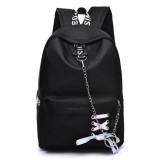 17L Outdoor Travel Backpack Waterproof Nylon School Rucksack Girls Women Bag With Headphone Jack