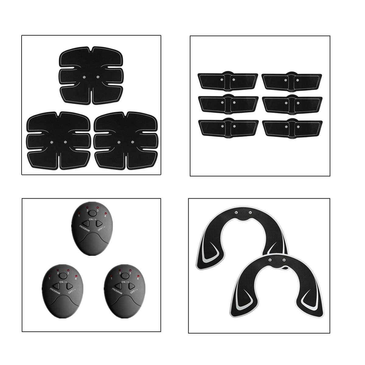 KALOAD 32PCS Arm Abdominal Muscle Trainer Hip Trainer Body Beauty Stimulator