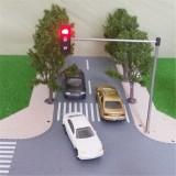HO OO Scale Traffic Light Signal Model Train Architecture Crossing Walk Street Block Signals