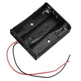 3pcs 4 Slots 18650 Battery Holder Plastic Case Storage Box for 4*3.7V 18650 Lithium Battery