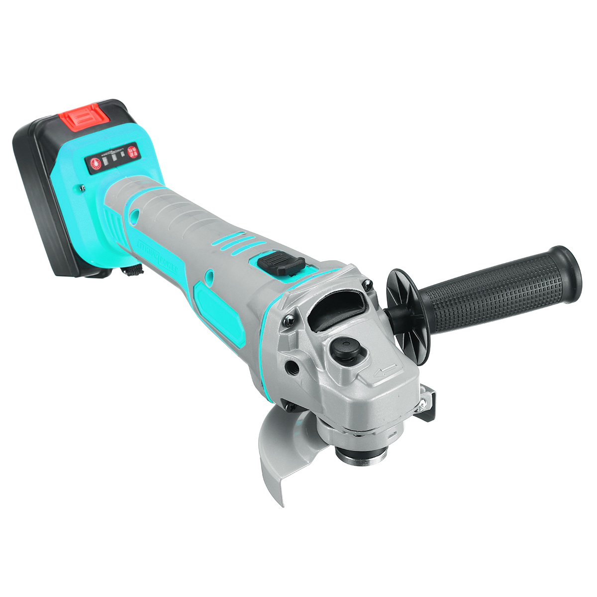 188VF/218VF Brushless Electric Angle Grinder Cordless Polisher Polishing Machine Cutting Tool Set W/ 1 or 2 Li-ion Battery