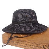 Unisex Collapsible  Breathable Outdoor Adventure Bucket Hat  Mountaineering Hat Sunshade Fishing Cap