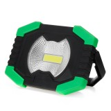 30W COB LED USB Solar Work Light Spotlight Waterproof 3 Modes Flood Lamp Outdoor Camping Tent Emergency Lantern