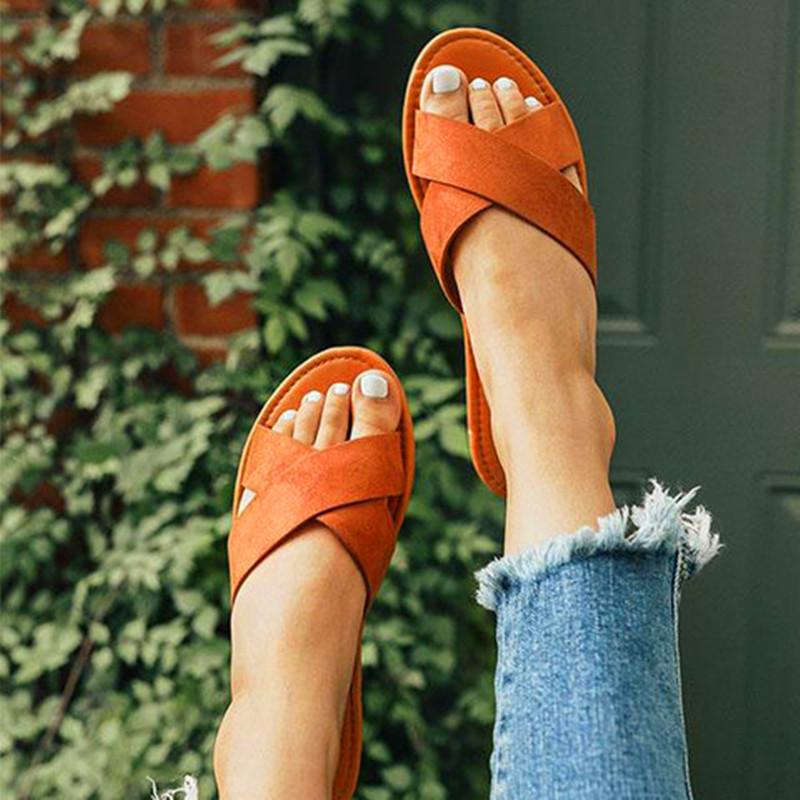 Women's Sandals Slippers Fashion Pattern Slip Durable Beach Outdoor Activities Leisure Slippers