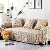 Sofa Covers Couch Slipcover Seat Cotton Blend 1-4 Seater Pet Dog Sofa Cover Protector