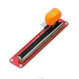 3pcs Double Analog Potentiometer Module With Slide Potentiometer Slip Adjustable Resistance For Arduino