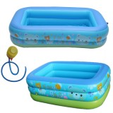 120/130/150CM Inflatable Baby Swimming Pool Kids Pool Bathing Tub Outdoor Indoor Swimming Pool