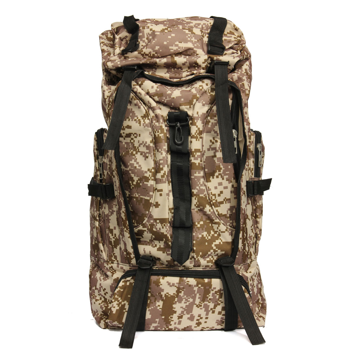 80L Outdoor Tactical Bag Climbing Backpack Waterproof Sports Travel Hiking Camping Rucksack