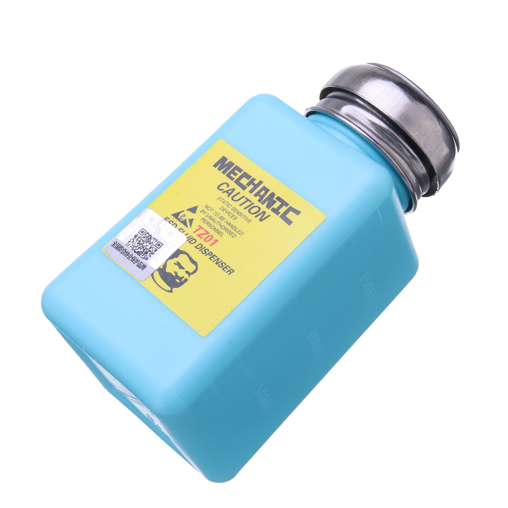 100ml 150ml Stainless Steel Anti-splash Anti-static Alcohol Bottle Washboard Water Bottles
