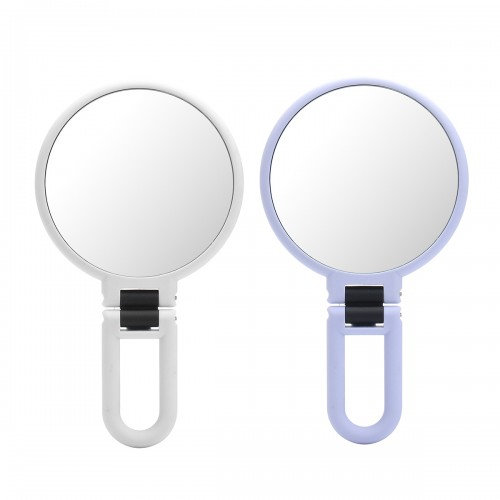10x Magnification Adjustable Make Up Mirrors Double Sided Vanity Folding Mirror Bathroom Travel