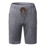 MODCHOK Men's Shorts Sports Pants Shorts Adjustable Soft Loose Breathable Casual Trousers