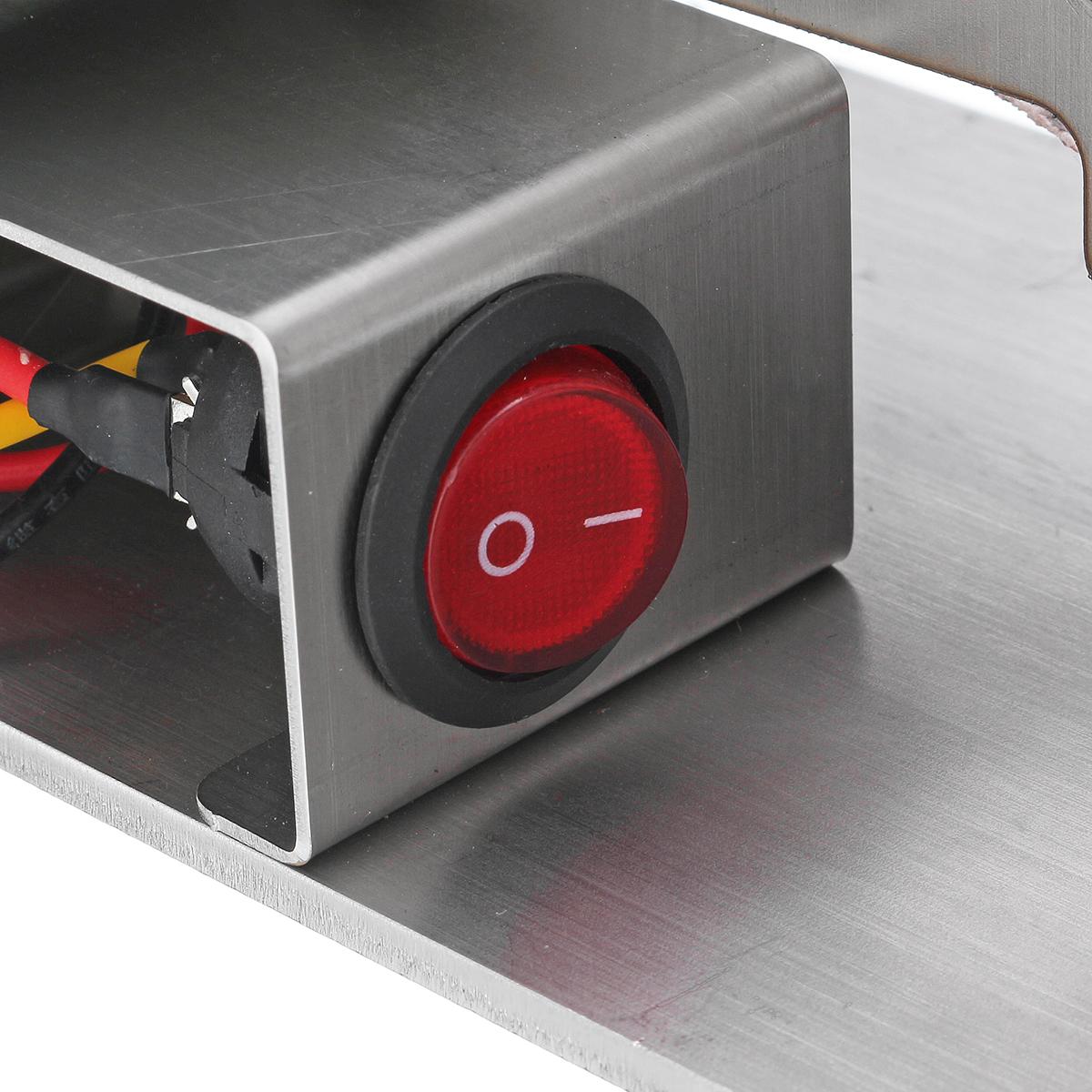 110-240V Mini Belt Sander DIY Sanding Grinding Sharpening Machine Edge Sharpener 330x15mm