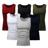 MODCHOK Men's Vest Tank Tops Sleeveless T Shirt Cotton Undershirt Casual Summer