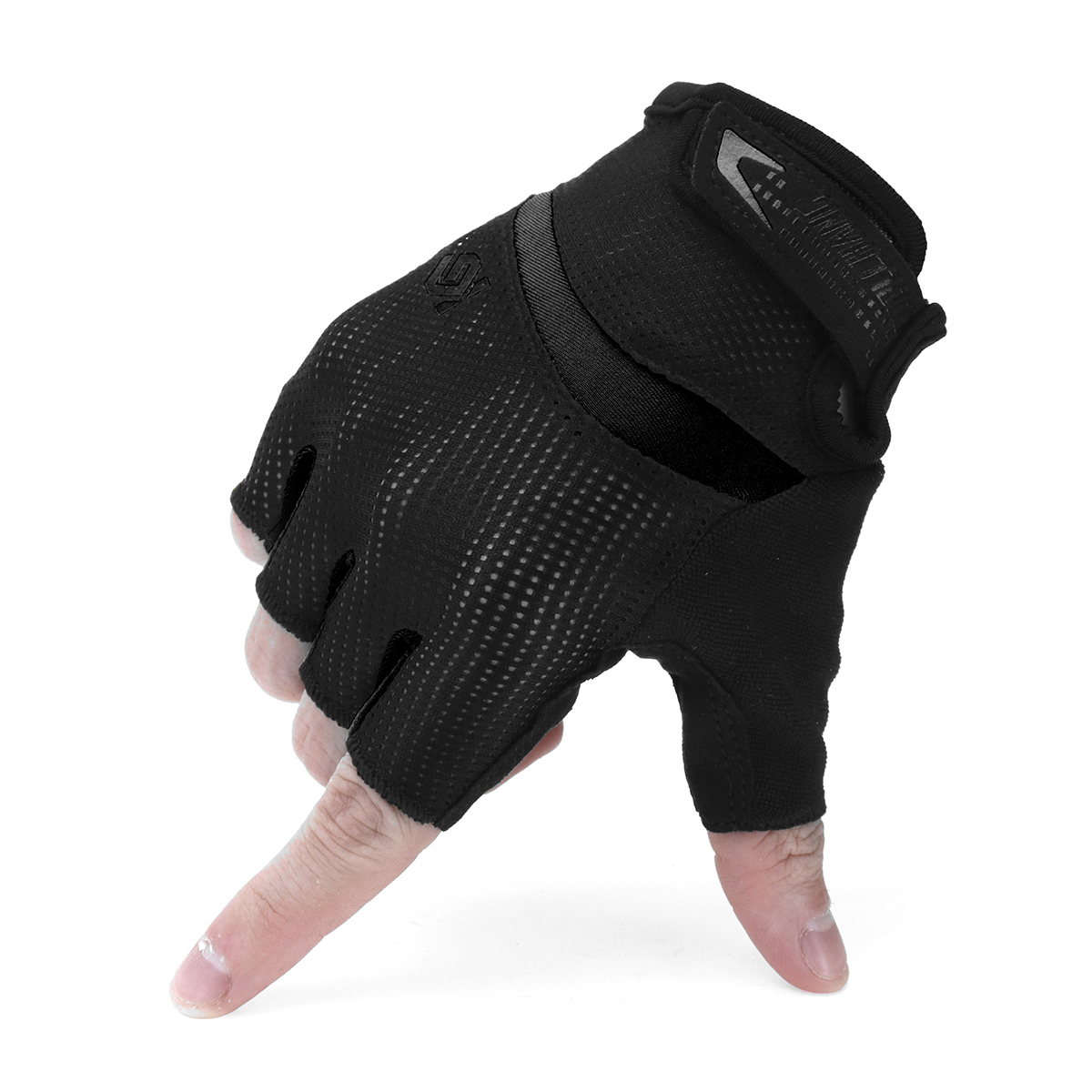 Antiskid Cycling Motorcycle Gloves MTB Bike Half Finger Gloves Short Finger Sports Glove