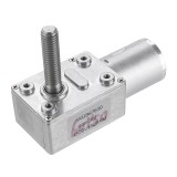 Machifit JGY370 DC 6V 10/30/90/150rpm Motor Micro Gear Turbine Worm Self-locking Reduction Gear Motor