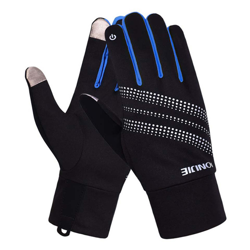 AONIJIE Men Women Outdoor Sports Bicycle Cycling Warm Windproof Full Finger Bike Glove Motorcycle